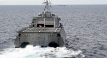 Nóng: Tàu chiến Mỹ và Kiểm ngư Việt Nam vây áp tàu Hải Dương Địa Chất 4 Trung Quốc
