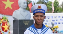 Bầu cử đại biểu Quốc hội và HĐND: Chiến sĩ trẻ Trường Sa tự hào lần đầu đi bỏ phiếu