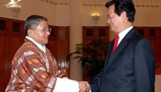 Prime Minister Nguyen Tan Dung receives Special Envoy of the Prime Minister of the Royal Government of Bhutan