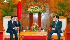 Prime Minister Nguyen Tan Dung: Vietnam willing to assist Laos in hosting international meetings