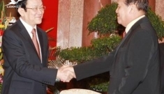 President Truong Tan Sang: Viet Nam, Laos work on admin reform