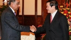 President Truong Tan Sang highlights Vietnam-India strategic partnership