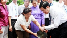 President Truong Tan Sang advocates hygienic practices