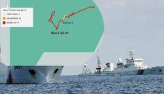 NÓNG: Tàu Trung Quốc 'gây sự' ở bãi Tư chính và lô 06-01 của Việt Nam