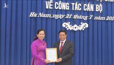 Hà Nam có nữ Bí thư Tỉnh ủy