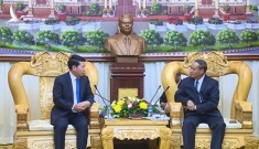 Việt Nam – Lào tăng cường hợp tác trong lĩnh vực an ninh