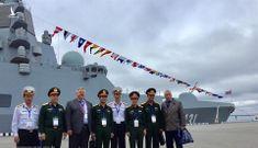 Việt Nam ngắm bộ đôi khinh hạm Dự án 22350 và 20385