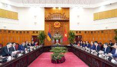 Thủ tướng Nguyễn Xuân Phúc hội đàm với Thủ tướng Armenia