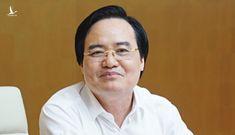 Bộ trưởng Phùng Xuân Nhạ: 'Mục tiêu dạy người vẫn bị xem nhẹ'