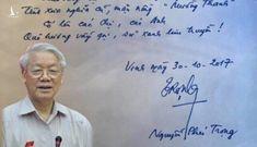 Ngừng suy diễn chuyện Tổng Bí thư đề thơ tặng tập đoàn Mường Thanh