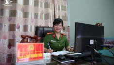 Trải lòng của nữ Trưởng Công an phường đầu tiên ở Thái Bình