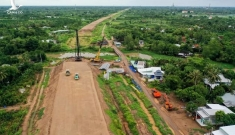 Cao tốc Trung Lương – Mỹ Thuận sau 10 năm khởi công