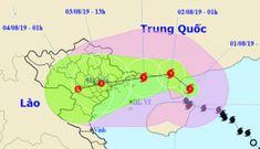 Khẩn cấp ứng phó bão số 3 tiến thẳng tiến Quảng Ninh – Thái Bình