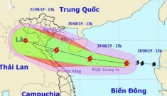 Bão số 4 đổ bộ Thanh Hóa – Quảng Bình chiều tối 30-8, mưa rất lớn