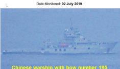 """Philippines """"chỉ mặt"""" dàn chiến hạm Trung Quốc tiến vào vùng biển mà không thông báo"""