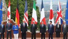 Tổng thống Donald Trump xuất hiện ở hội nghị G7, căng thẳng thế giới đe dọa sự đoàn kết của nhóm