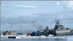 Kiểm ngư Việt Nam truy đuôi tàu Indonesia, kịp thời giải cứu ngư dân