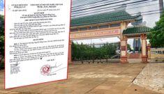 Tiếp tay chiếm đoạt tiền làm nghĩa trang, Chủ tịch huyện ở Gia Lai bị kỷ luật cảnh cáo