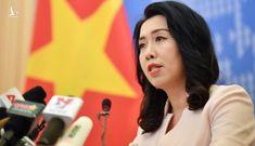 Việt Nam phản bác phát biểu của người phát ngôn Bộ Ngoại giao Trung Quốc về hoạt động tàu Hải Dương 8