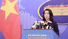 Bộ ngoại giao Việt Nam trả lời về thông tin khởi kiện Trung Quốc