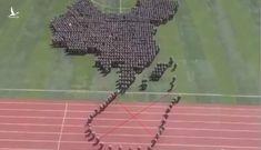 """Lễ duyệt binh 70 năm quốc khánh Trung Quốc có xếp hình """"đường Lưỡi bò""""?"""