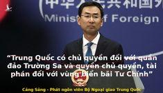 """Thủ đoạn của Trung Quốc khi gán Bãi Tư Chính của Việt Nam vào """"thỏa thuận song phương""""?"""