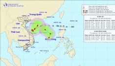 Áp thấp nhiệt đới chồng áp thấp nhiệt đới giật cấp 9 đe dọa Biển Đông