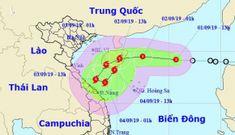 Áp thấp nhiệt đới mạnh lên thành bão đang tiến vào miền Trung