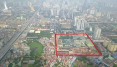 Tiết lộ bất ngờ về khu đất vừa bị cháy của công ty Rạng Đông