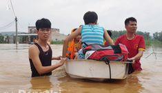 Mưa lớn làm ngập hàng trăm ngôi nhà ở Đồng Nai