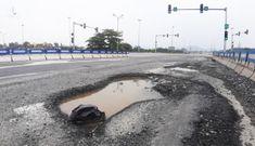 Cao tốc hơn 34.000 tỷ nối Đà Nẵng – Quảng Ngãi lại xuất hiện 'ổ trâu'