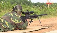 Đặc nhiệm Việt Nam dùng súng bắn tỉa hạng nặng chuẩn NATO