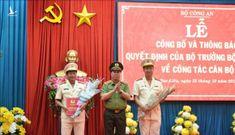 Giám đốc công an Bạc Liêu giữ chức vụ Cục trưởng Cục Tổ chức cán bộ, Bộ Công an 