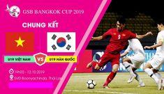 Không được phát sóng, xem trực tiếp U19 Việt Nam vs U19 Hàn Quốc tại đây