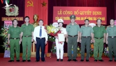 Yên Bái có nữ Phó Giám đốc Công an tỉnh đầu tiên