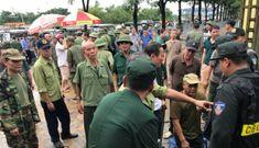 Nhiều thương binh phá cổng trụ sở VFF đòi vé trận Việt Nam-Malaysia