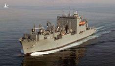Tàu hàng Mỹ lần đầu tiên tiếp tế tàu hải quân Ấn Độ trên Biển Đông
