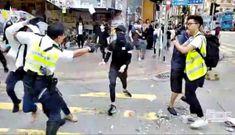 Biểu tình Hong Kong tăng cấp độ bạo lực tăng cao