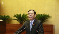 Quốc hội chất vấn Bộ trưởng Nguyễn Xuân Cường