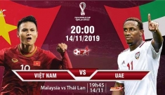 Xem trực tiếp bóng đá trận Việt Nam – UAE