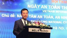 Bộ trưởng Nguyễn Mạnh Hùng: Đảm bảo an ninh mạng mang ý nghĩa sống còn