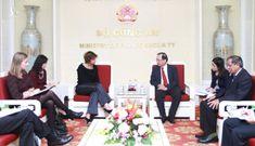 Việt Nam – Hà Lan tăng cường hợp tác trong đấu tranh phòng, chống tội phạm