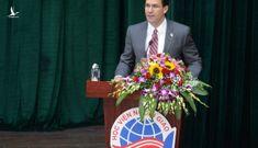 Bộ trưởng Quốc phòng Mỹ phát biểu về Biển Đông tại Hà Nội