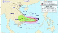 Bão số 6 tiến vào đất liền các tỉnh Trung Bộ, gió giật cấp 12