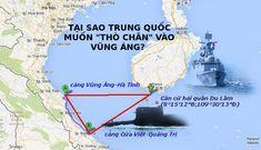 """Vị trí địa chính trị đặc biệt của Vũng Áng không cho phép bất cẩn """"mời"""" Trung Quốc vào"""