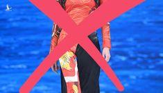 Nhà thiết kế Trung Quốc ăn cắp mẫu áo dài Việt, nói đó là 'phẩm giá trang phục Trung Quốc'
