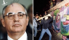 """Cựu TT Gorbachev giải thích lí do Liên Xô quyết định """"đứng ngoài cuộc"""" khi Bức tường Berlin sụp đổ"""