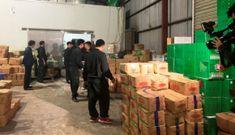 Cận cảnh Bộ Công an bắt giữ cả trăm tấn thuốc bắc nhập lậu từ Trung Quốc