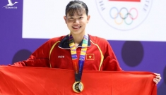 """""""Nàng tiên cá"""" Việt Nam được trao giải đặc biệt tại lễ bế mạc vì…quá nhiều HCV"""