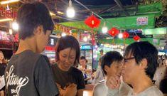 Gia đình du khách Nhật ở Phú Quốc đã tìm được giấy tờ